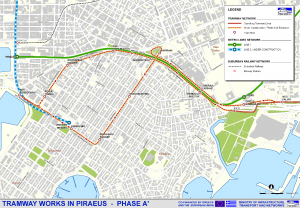 TRAMWAY in Piraeus - Phase A' of Extension