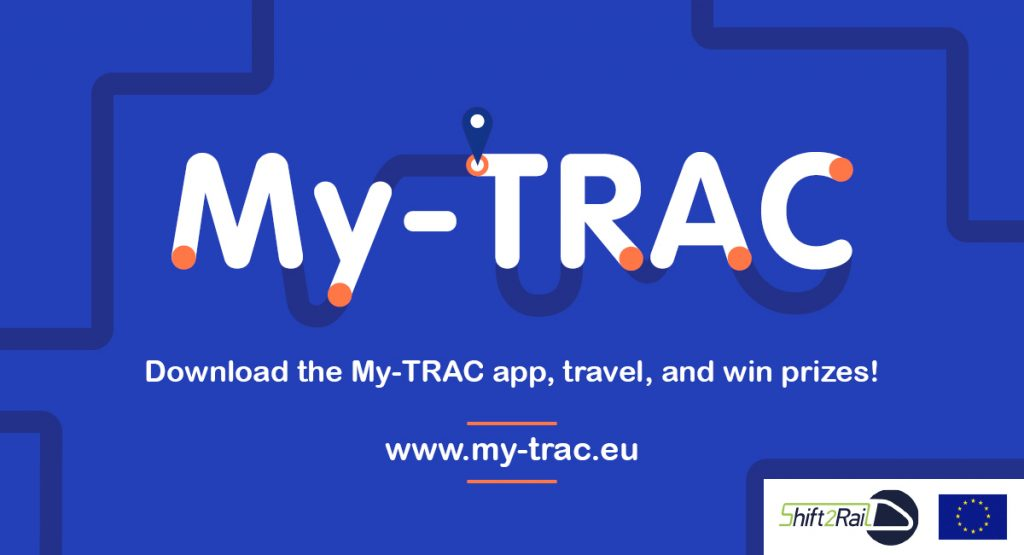 My-TRAC. Download the My-TRAC app, travel, and win prizes!